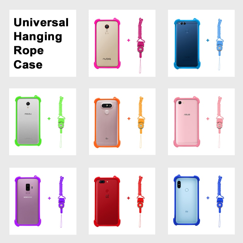 Jinga Joy/Pro funda de silicona universal para Jinga Touch 4G cuerdas de cubierta para Jinga Fresh 4G funda Jinga Optim 4G funda