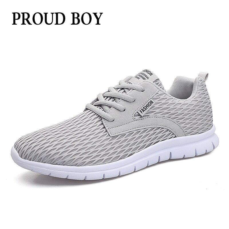 Zapatillas de correr para hombre de malla transpirable, zapatillas ligeras para correr al aire libre, para correr, talla grande, cómodas zapatillas deportivas para hombre