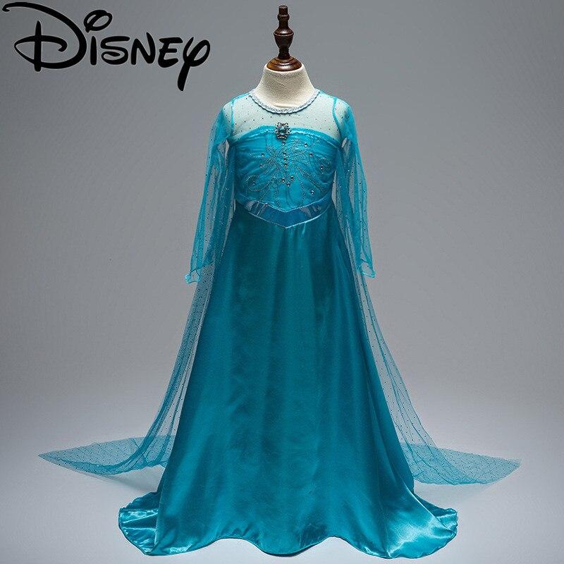 Платье для девочек «Холодное сердце», костюм для детей, костюм для косплея Анны и Эльзы, платье для новорожденных