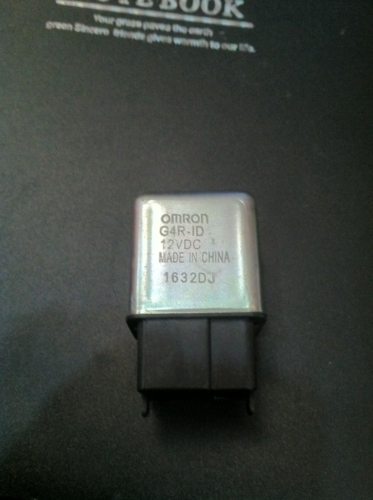 Relay G4R-ID 12VDC 4-pin start relay