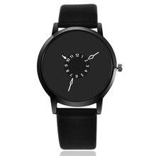 NEW Top Fashion Luxury Brand Bracelet Quartz Watches Women Men Casual Leather Wrist Watch Clock Relo