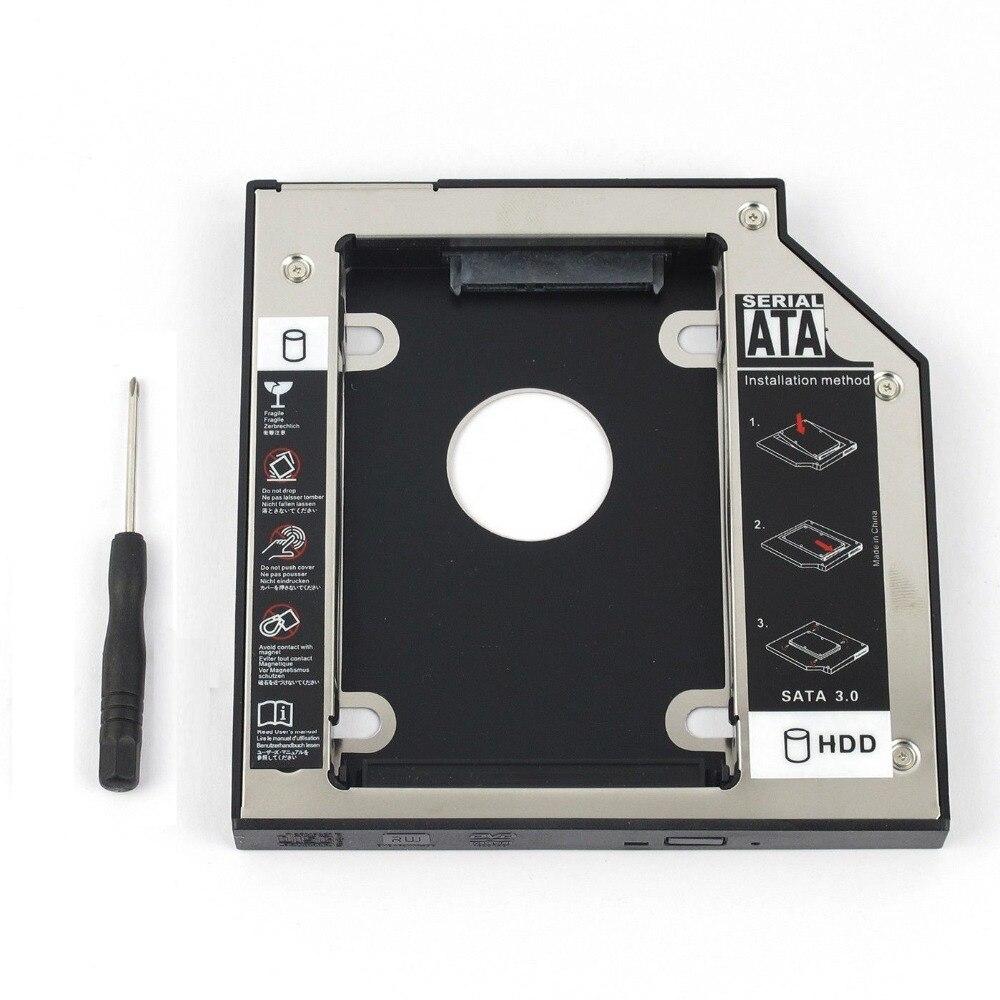 WZSM venta al por mayor nuevo 2nd SATA HDD Disco Duro Caddy...