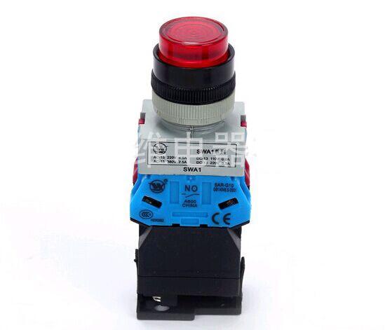 مفتاح نجمي SPW299DF, زر ضغط ممتد (بمحول)