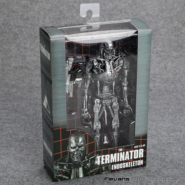 "The Terminator Endoskeleton PVC Action Figure Collectible Model Toy 7"" 18cm"