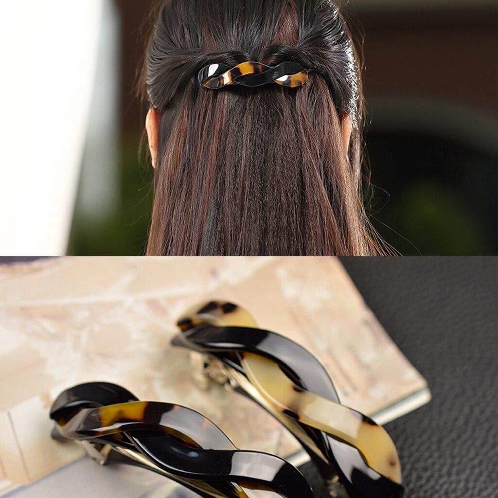 2019 moda japonês torção primavera grampo de cabelo barrette hairpin braçadeira rabo de cavalo jóias headwear acessórios para meninas
