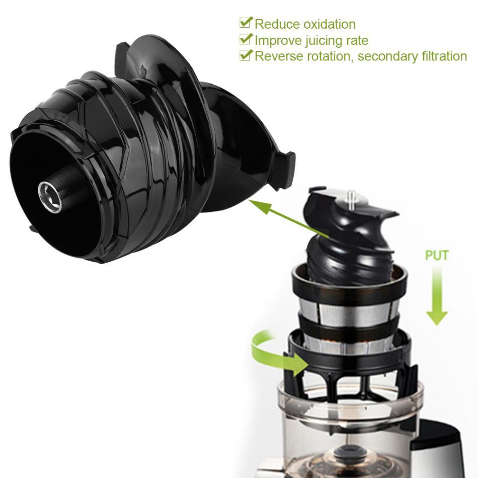 Juicing tornillo para licuadora de masticación lenta y multifunción trituradora de procesador de alimentos Vertical de baja velocidad