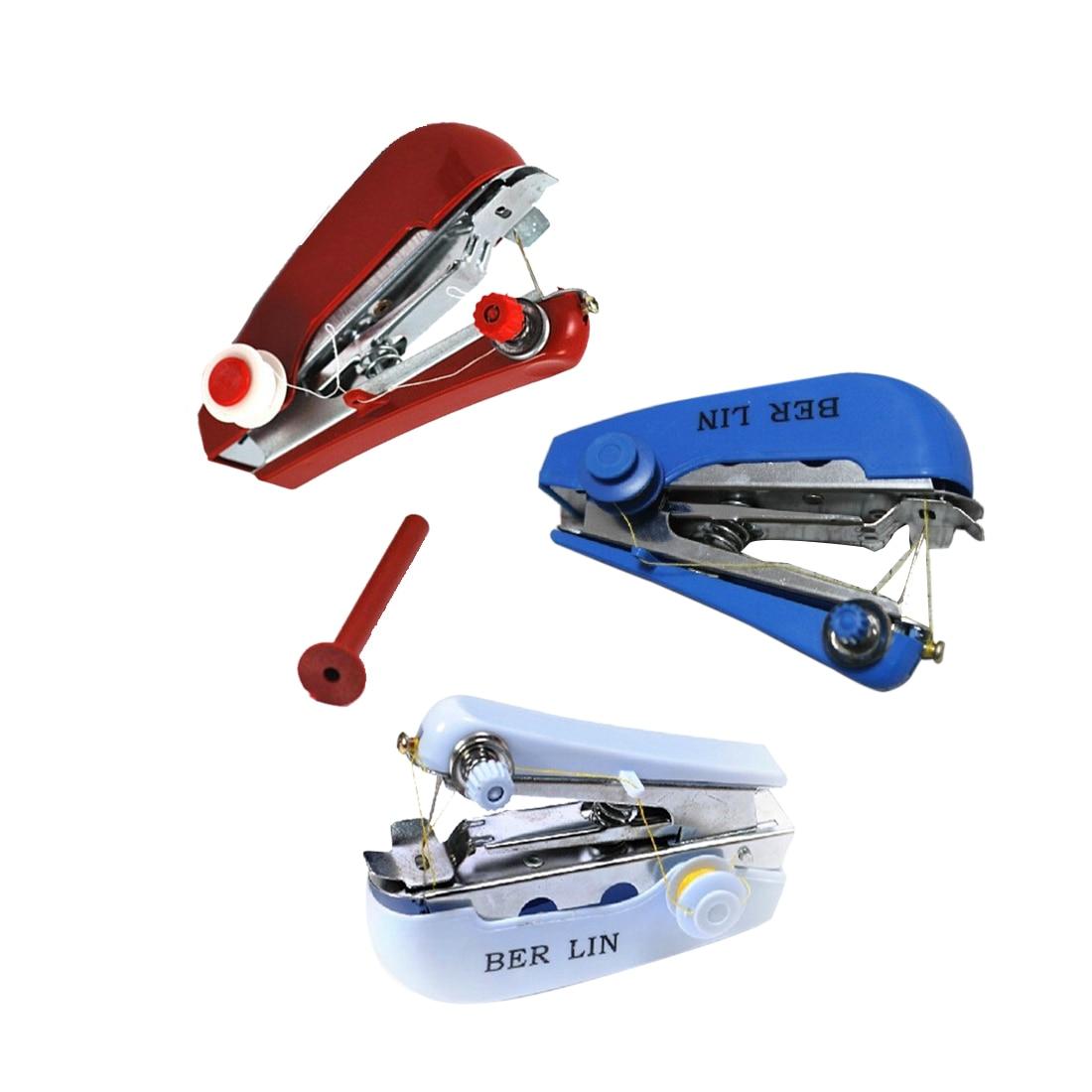 11*7*4 см мини ручная швейная машина DIY цвет случайный удобный швейный станок инструмент maquina de costura аксессуары