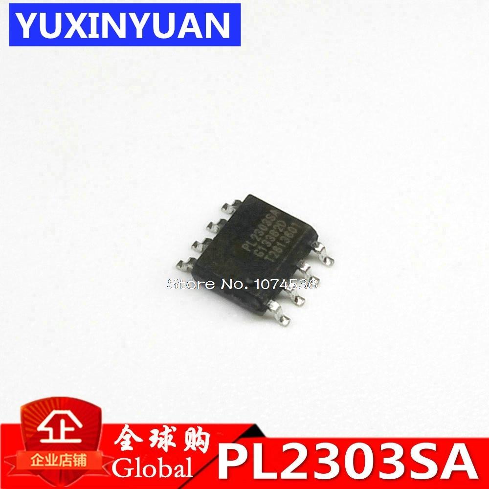 5 unids/lote PL2303SA PL-2303SA PL2303 SOP8 original auténtico