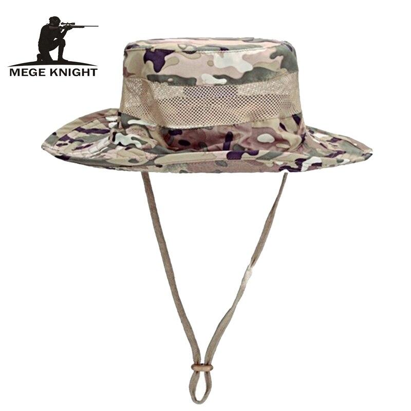 Airsoft Sniper Camouflage Boonie Hüte, Taktische Nepalesischen Kappe, Militär Herren Angeln hut, Zubehör, eine größe 60