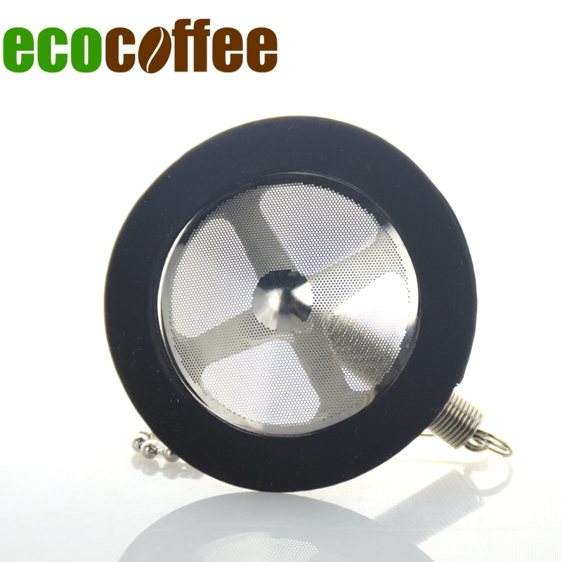 Ecocoffee Freeshipping Resuable Acero inoxidable Syphon filtro reemplazo para TCA-3/5 Barista cafetera repuesto