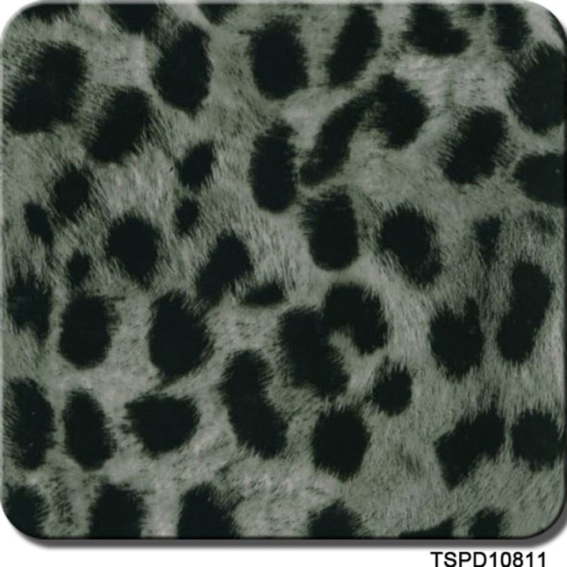 CSPD10811 1m ancho hidro impresión transferencia 10m Longitud leopardo transferencia de agua