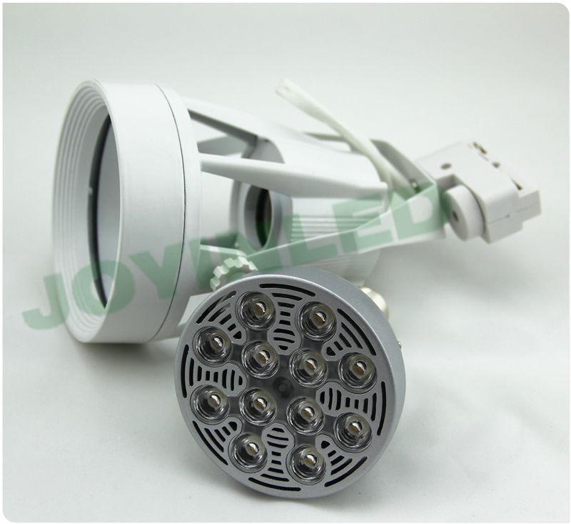 DHL شحن مجاني 5 قطعة 35 واط E27 Par30 led الأضواء الدافئة/نقية الأبيض led أضواء المسارات متجر الملابس مركز للتسوق فندق الجدار مصابيح