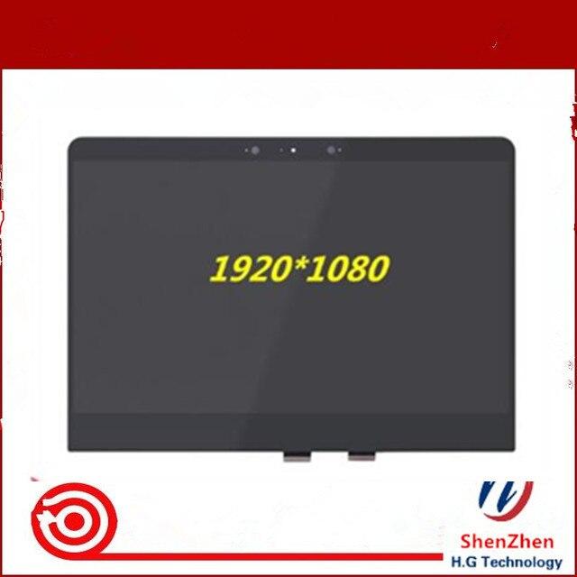 """13.3 """"IPS FHD Artigo N133HCE-GP1 apto para HP Spectre X360 13-AC AC033DX LTN133HL09-H01 Tela LCD Digitador Assembléia Toque"""