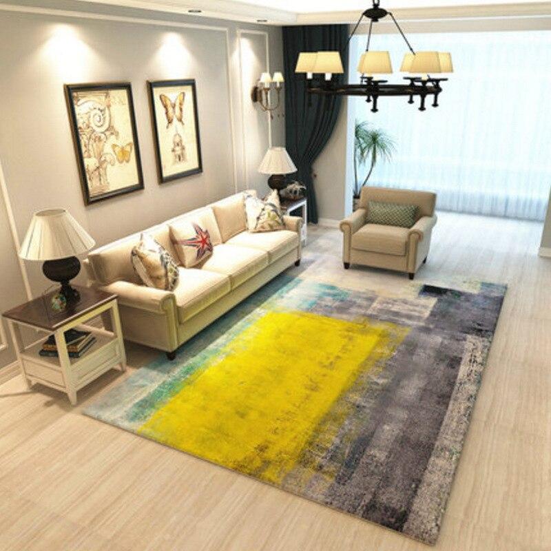 Warm Colorful Bedroom Floor Mat Rugs Living Room large Area Decor Soft Carpets Rectangle Non-slip tapete Fashion Home Carpet