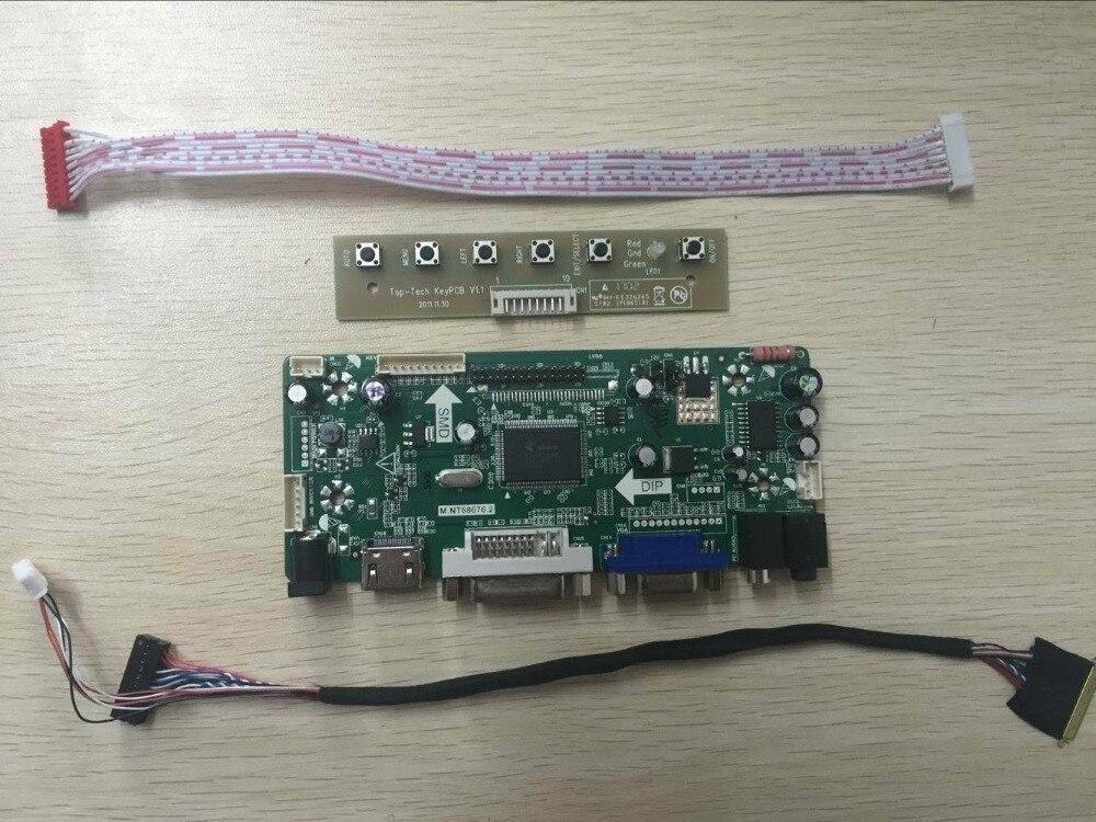 Latumab New HDMI+DVI+VGA LVDs Controller Driver Board Kit for Panel 1440x900 LP141WP3 TLA1   Free shipping