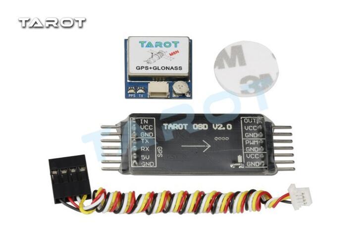 Tarot nueva imagen mini OSD superposición/sistema GPS TL300L2