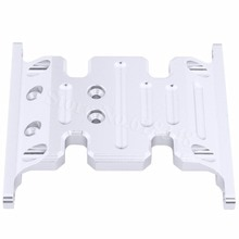 Metal Aluminum Center Skid Plate For Axial SCX10 Rock Crawler 1:10 RC Car Parts Hop Up Replacement