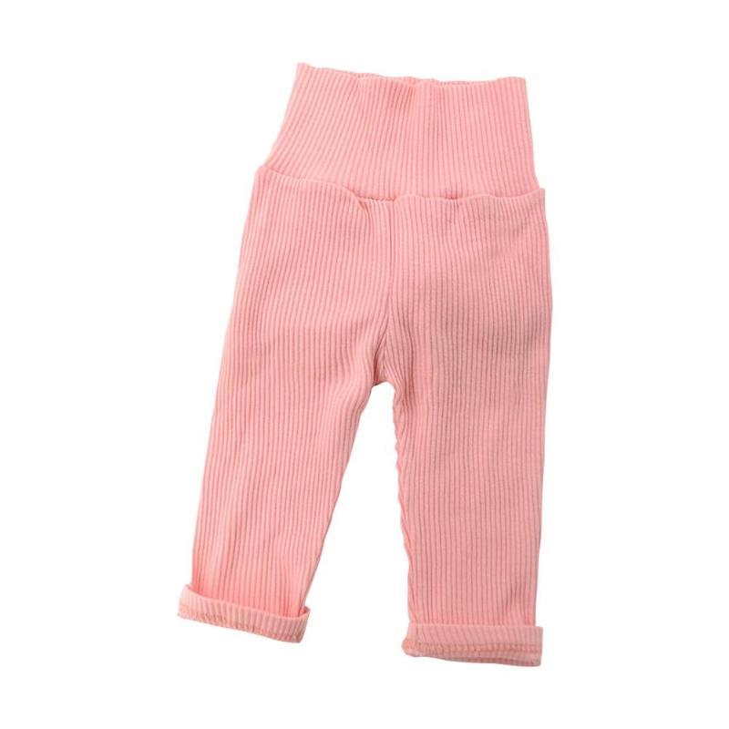 Leggings de invierno con cola de conejo y bolas de pelo para niñas recién nacidas, pantalones cálidos para bebés