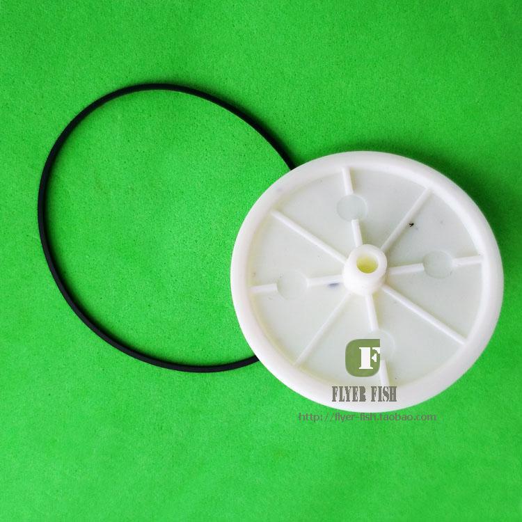 100 unids/lote CDM4 CDM-4 Marantz tocadiscos CD jugador cajón bandeja de la rueda de engranaje + cinturón CD nuevo
