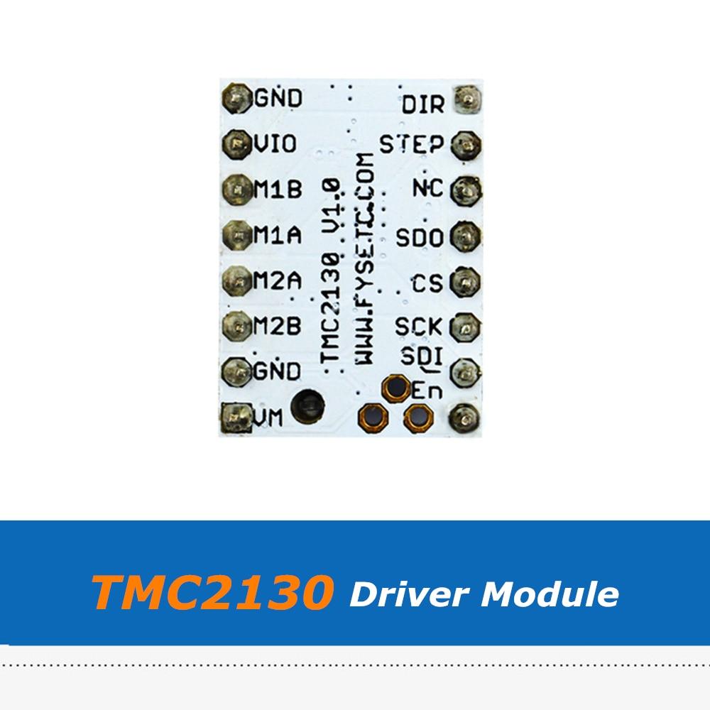 3D Printer Part Ultra-Silent V1.0 TMC2130 Stepper Motor Driver Module With Heatsink Gift enlarge