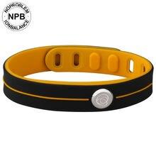 Noproblem Mode Smart 3000 Ionen Waterdichte Sport Rubber Power Gezondheid Choker Toermalijn Germanium Band Armband
