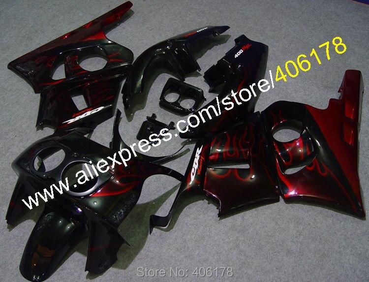 CBR400RR carenados Kit para CBR400RR NC29 CBR 400RR 1990, 1991, 1992, 1993, 1994, 1995, 1996, 1997, 1998 ABS carenados