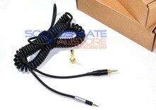 Générique remplacement enroulé casque DJ câble étendu fil pour Sennheiser HD598 HD595 HD518 HD558 casque 1-3M