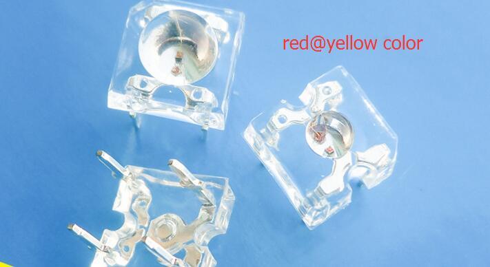 Superflux bicolore 3mm diode LED rouge @ jaune led piranha