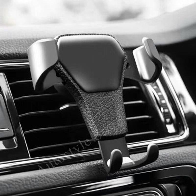 Ventilación de aire de coche la gravedad soporte sostenedor del teléfono del coche pegatinas para Jaguar XF F X S X tipo XJS XK XJ6 XJ8 XE tipo Accesorios