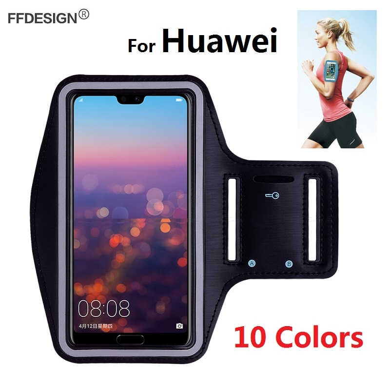 Arm band Running Sports Bracelet Phone Case for Huawei P30 Pro P20 Lite Mate 30 20 10 Pro Honor 10 9