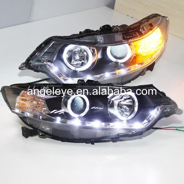 Wersja europejska dla hondy dla Spirior 2009-2011 rok LED reflektory anielskie oczy LD