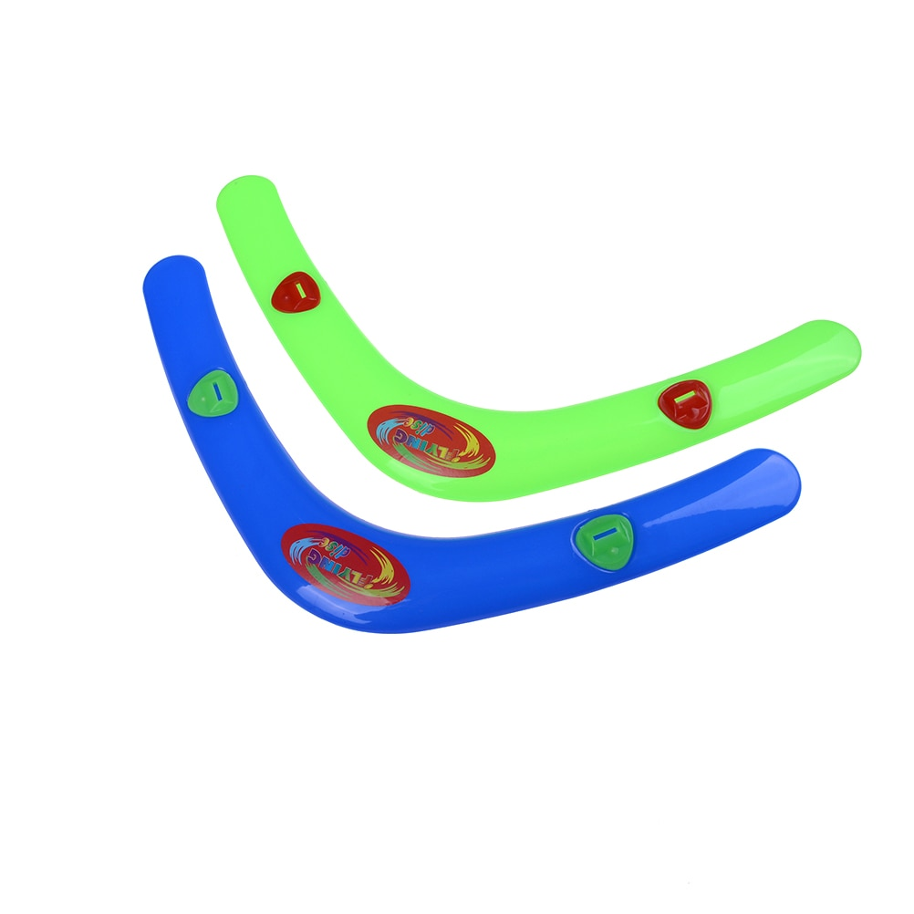 "1 Uds niño divertido en forma de V Boomerang volver ""Throwback"" Whistler juguete de Boomerang al aire libre juguetes deportivos"