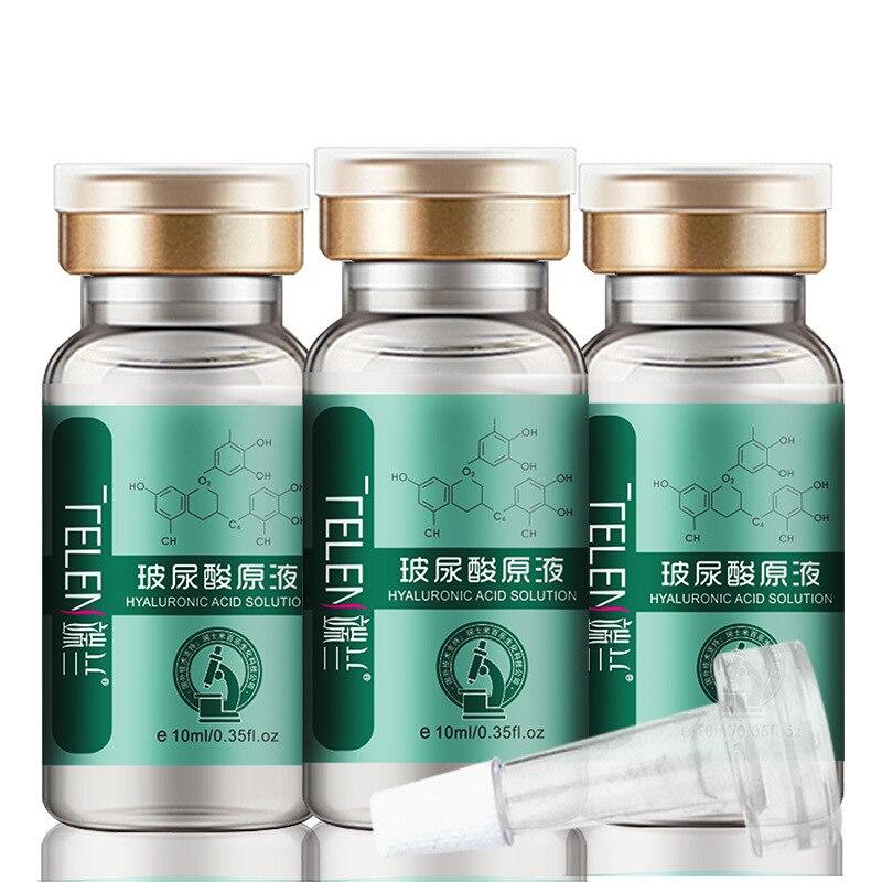 Esencia de ácido hialurónico, ácido hialurónico, agua hidratante, reafirmante e hidratante, 10ml