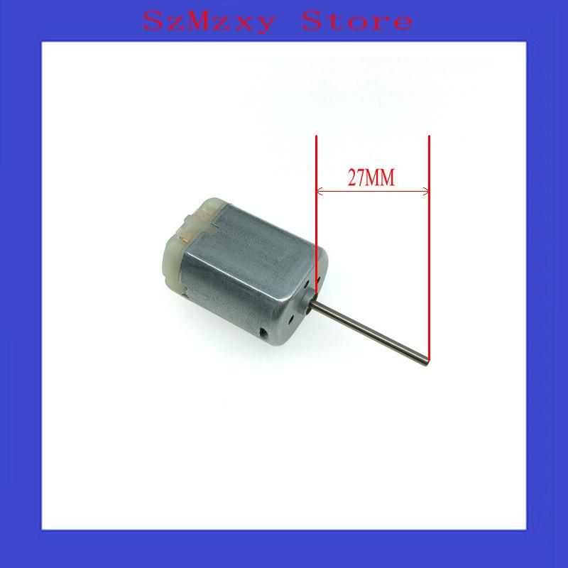 1PCS/Lot  Car 280 27MM FC280 FC-280 12V Miniature dc locomotive lock rear-view mirror with motor high speed motor