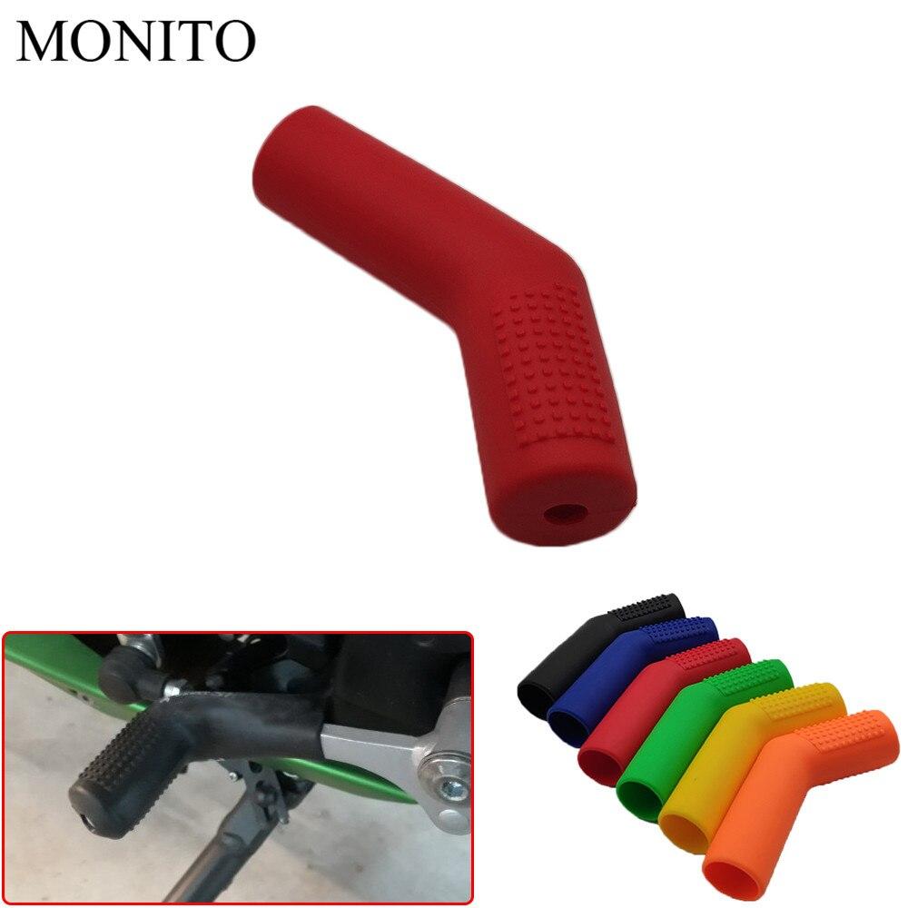 Motorcycle shift lever protective cover gear shifter protector case For Honda Hornet CB400 CB599 CB600 CBR650F CBF1000 VF750