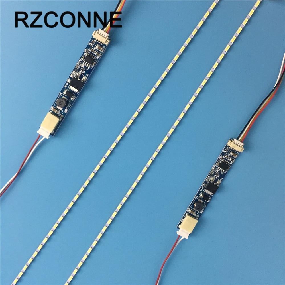 14 inch wide 290x2.0mm LCD Laptop Dimable LED Backlight Lamps Adjustable Update Kit Strip+Board 9-25V Input 10sets