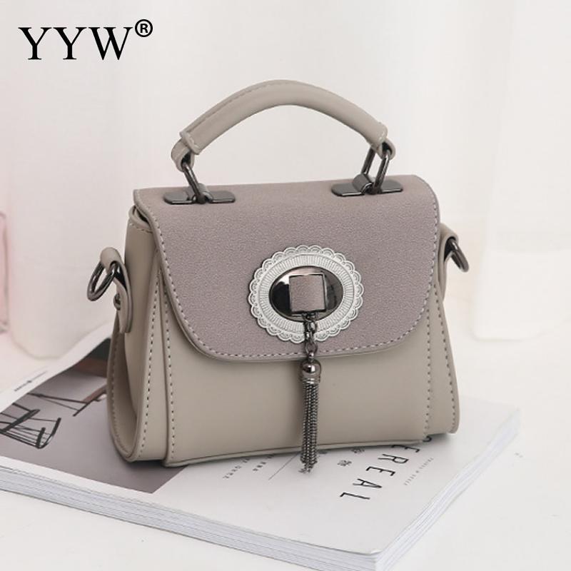 Brown Handbag Women Vintage Bags Tassels Messenger bags Crossbody Bag For Women 2018 Shoulder Chain Cute Girl fashion trendy