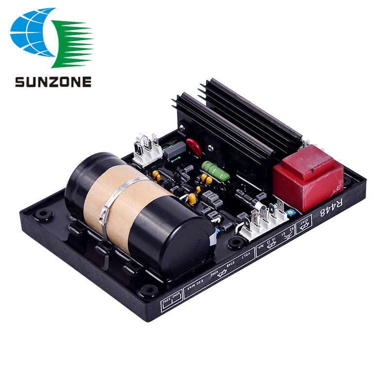 Regulador de voltaje de alta calidad AVR R448 para motor de Diesel...