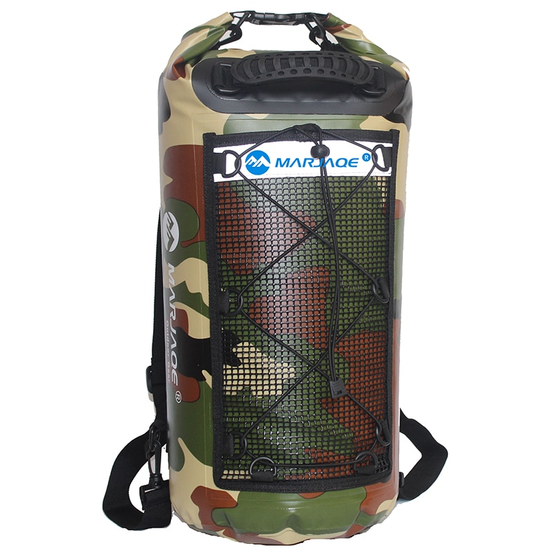 camouflage 20l sports ocean swimming water proof backpack bag for outdoor pvc waterproof dry pool impermeable bag backpack 25L Impermeable PVC Waterproof Swimming Backpack Dry Bag For Outdoor Sports Camping Travel Water Proof Backpack Bags Sporttas