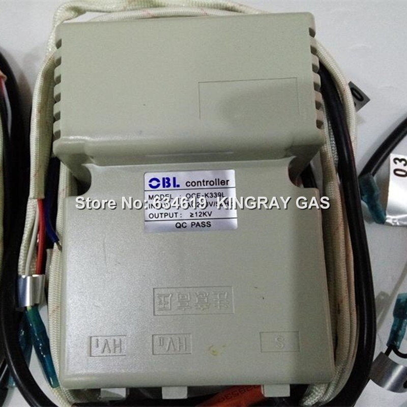 OCE-K339L/OCE-K339Q controlador de encendido Universal para horno de Gas equipo de comedor 12kv ignitor de pulso Ac220v piezas de repuesto para horno