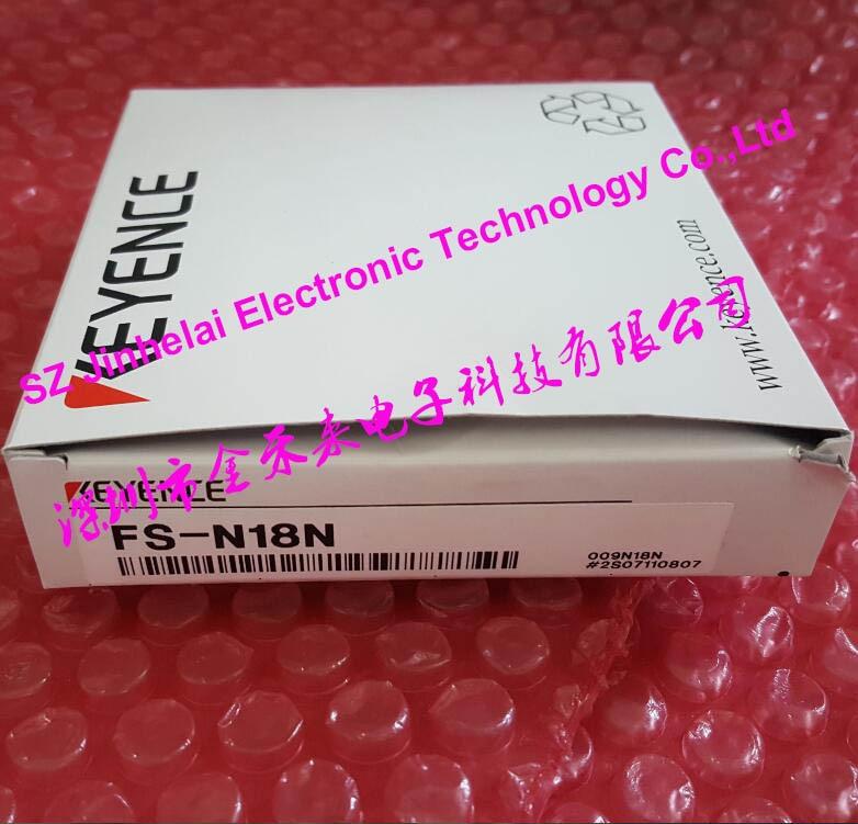novo e original fs n18n keyence amplificador de fibra optica