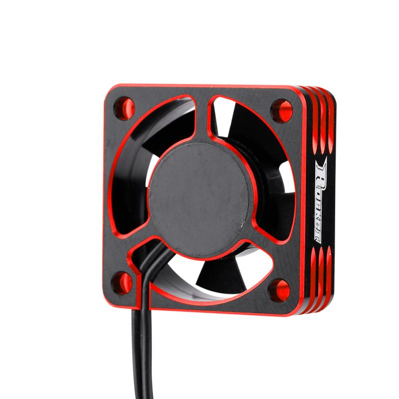 SURPASS HOBBY Metal Motor Cooling Fan RC Car Accessory 28000RPM Heat Dissipation Cooling Fan for 540 Brushless Motor Small size enlarge