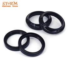 46*58*9.5/11.5 Front Fork Damper Oil Seal Dust seal For HONDA CR125R CR 125R 125 R 97-07 CR250R 250R 250 1996 CR500R 500 96-01