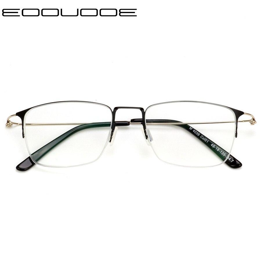 Marco de gafas de titanio para mujer marcos de gafas de prescripción para lentes ópticas miopía y lectura Oculos de Grau Feminino