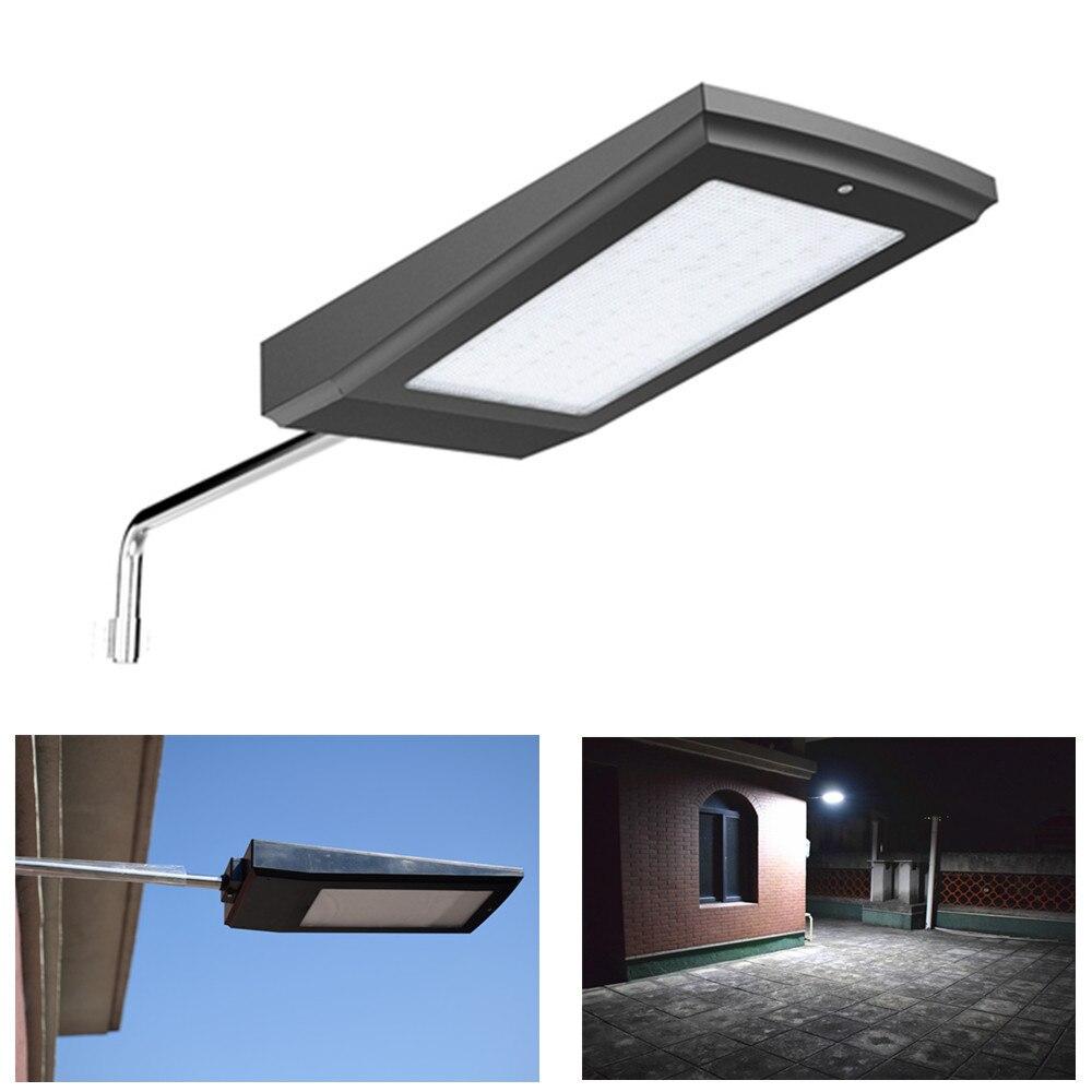 Farola Solar 108LED Super brillante 2100LM Plaza lámpara con Sensor de movimiento Radar Panel Solar luz para iluminación de jardín al aire libre