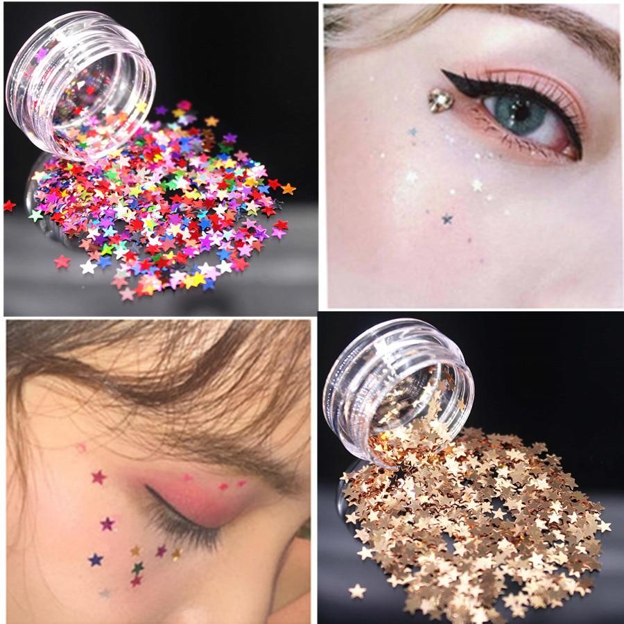1 Uds moda estrella de colores de sombra de ojos de 12 Colores paleta de sombra de ojos mate brillo sombra de ojos maquillaje desnudo conjunto de maquillaje cosmético