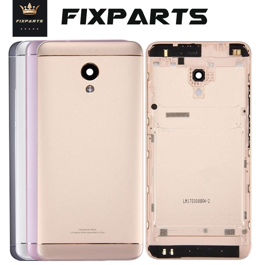 Back Housing For MEIZU M5S Back Cover Case Battery Meilan 5S M612H M612M Rear Door Replacement For M