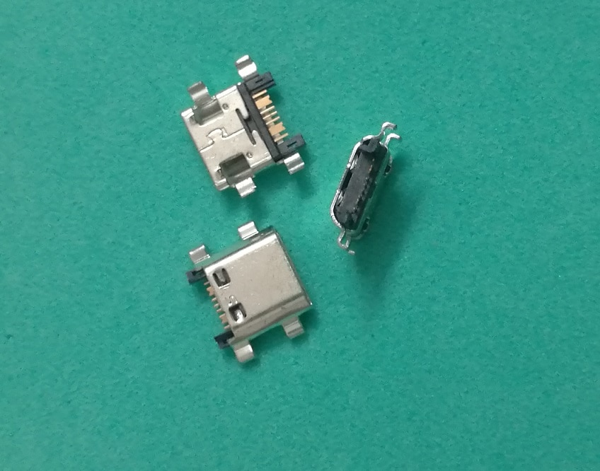 50 unids/lote Micro Mini USB puerto Jack Plug para Samsung Galaxy Grand Prime G530 cargador enchufe conector Dock Port