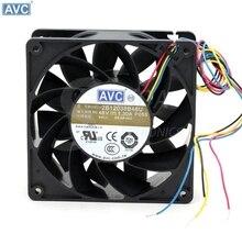 Pour AVC 2B12038B48U-P055 DC 48 V 1.3A 12 cm 120mm 12038 4 fils PWM serveur onduleur ventilateurs de refroidissement axiaux refroidisseur