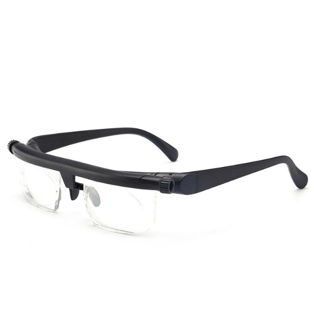 Gafas ajustables, gafas de prescripción no ajustables para miopía, miopía, lectura por ordenador, conducción, Unisex, gafas de enfoque Variable